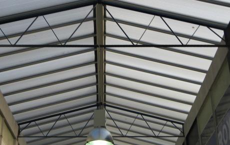 Installing a Glazed Atrium at Picton Arcade